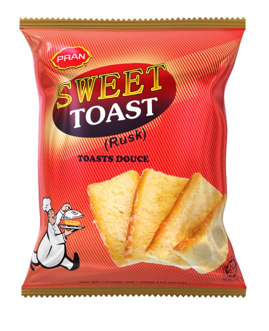 PRAN SWEET TOAST-350gm
