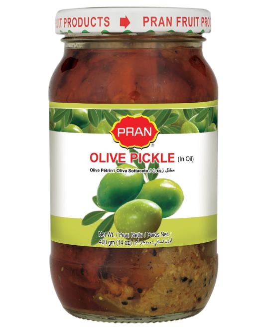 PRAN OLIVE PICKLE-400gm