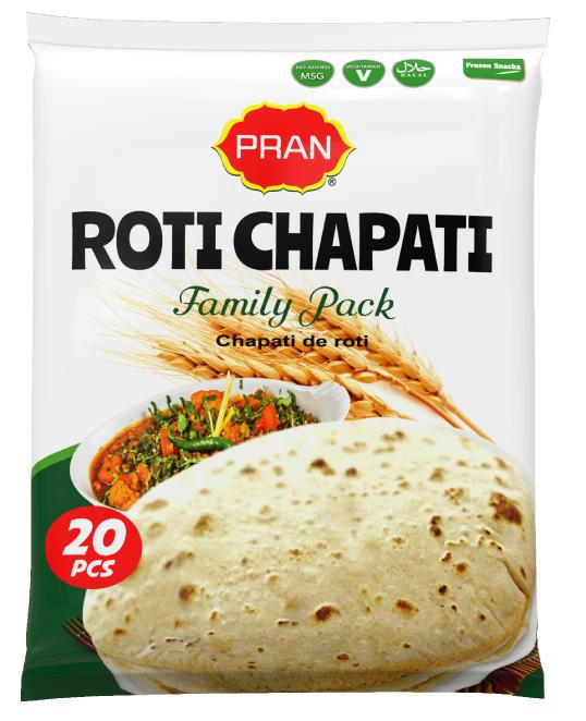 Pran Roti Chapati (20p/Pac)