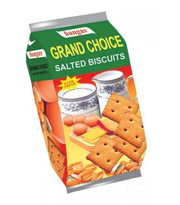 GRAND CHOICE SALTED BISCUITS - 100 GM