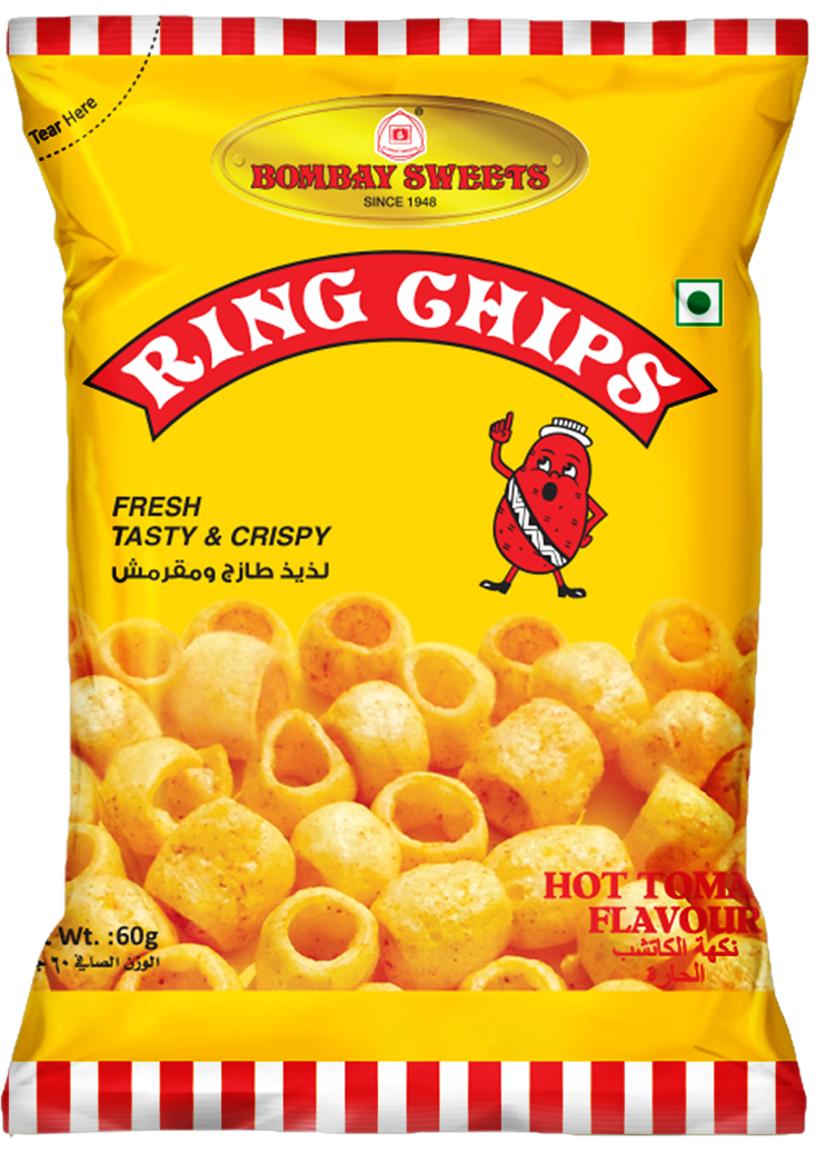 BOMBAY SWEETS RING CHIPS - 60GM